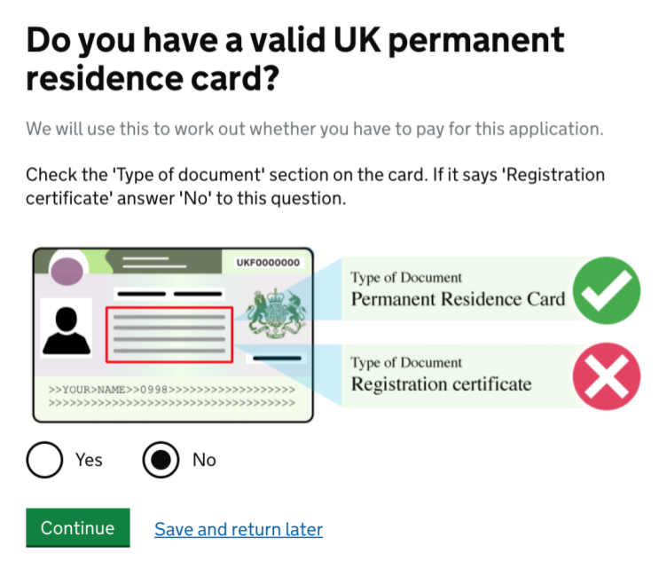 Applying With Permanent Residence (PR) Documents
